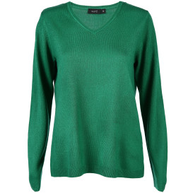 Damen Pullover unifarben