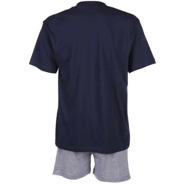 Herren Pyjama Set in kurzer Form