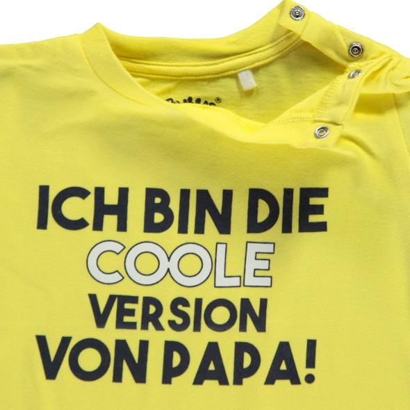 Baby Jungen Shirt mit Wording Print