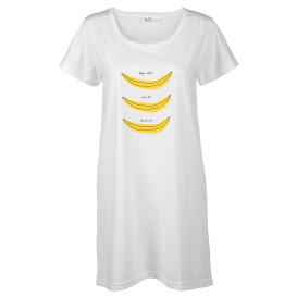 Damen Schlafshirt mit Bananenprint