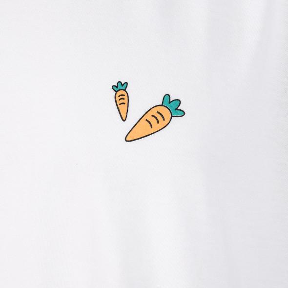 Herren Schlafshorty mit Karottenmotiv