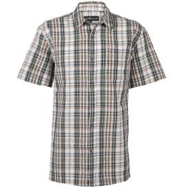 Herren Seersucker Hemd mit Brusttasche
