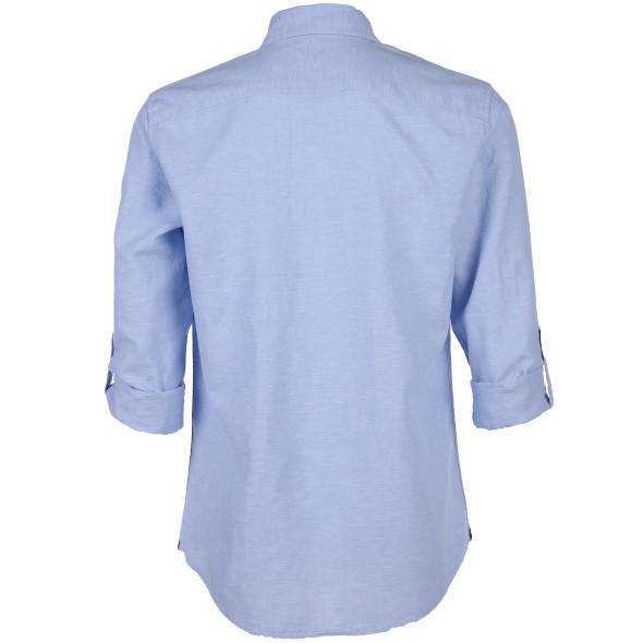 Herren Hemd in Jeansoptik