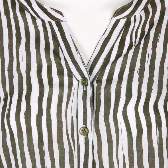 Damen Bluse mit Krempelfunktion
