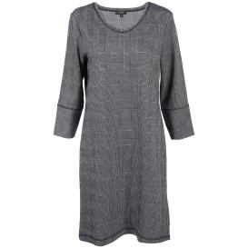 Damen Jaquard Kleid im Glencheck Muster