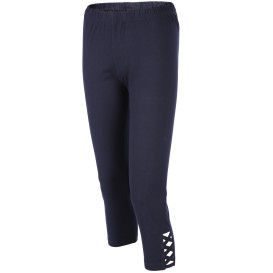 Damen Capri Leggings unifarben