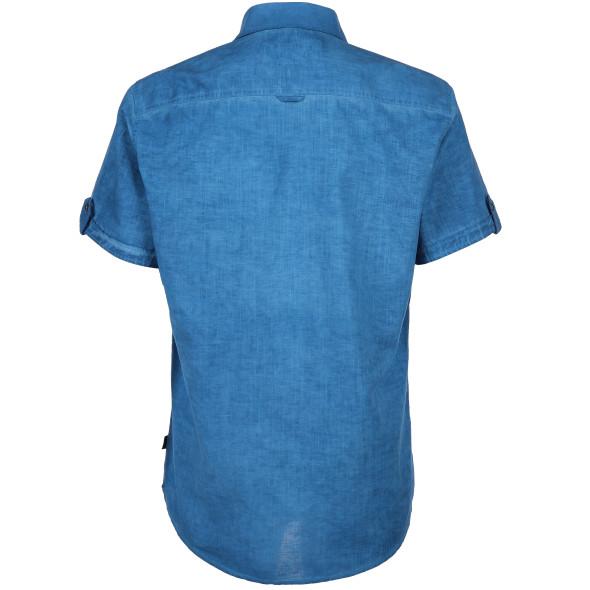 Herren Freizeithemd in Used Optik