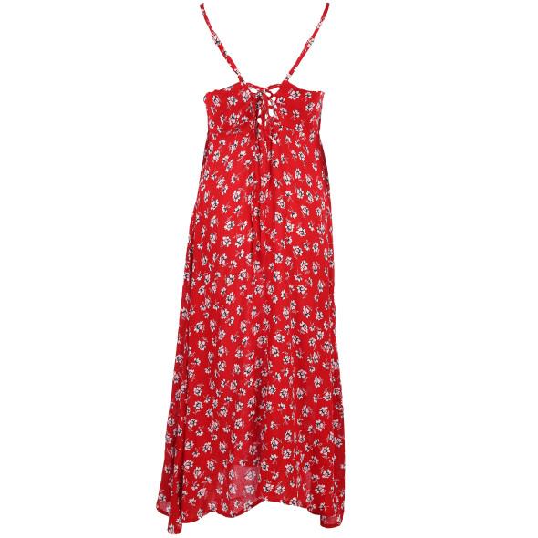 Damen Sommerkleid mit Blumendruck