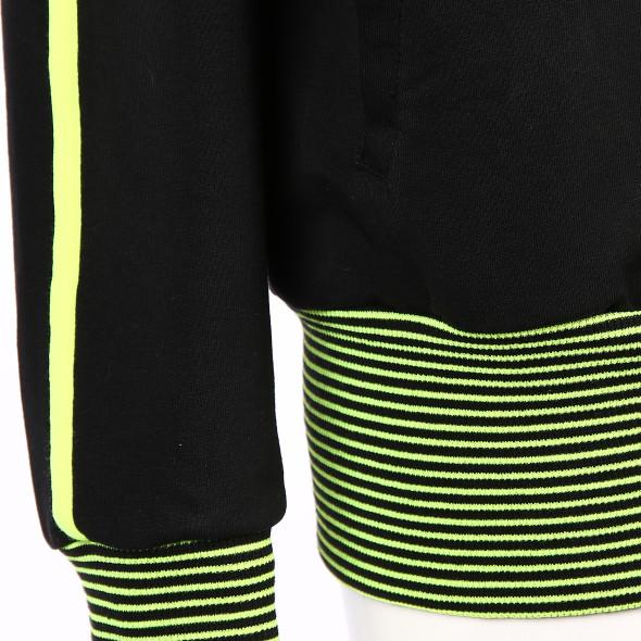 Damen Kapuzenjacke mit Neondetails
