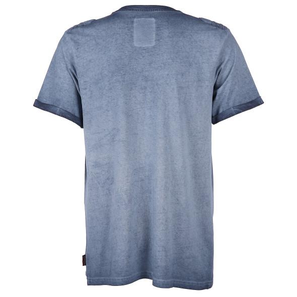Herren T-Shirt mit Knopfleiste