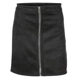 Damen Minirock mit Reißverschluss