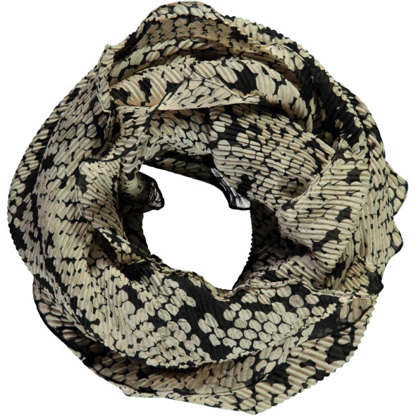 Damen Crashed Loop im Schlangendessin