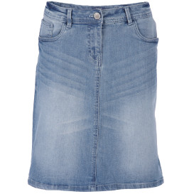 Damen Denim Rock