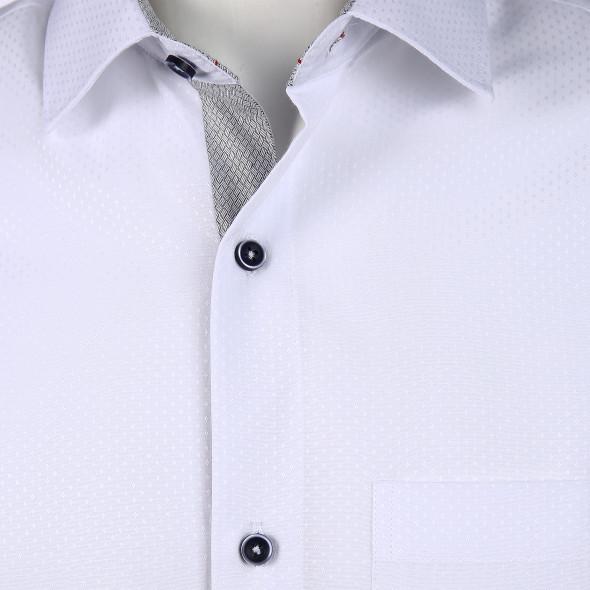 Herren Cityhemd mit gedoppeltem Kragen
