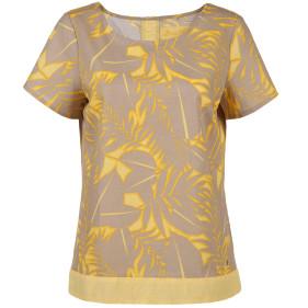 Damen Shirt in Leinenmischung