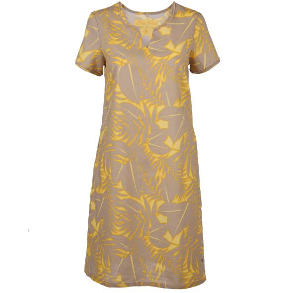 Damen Kleid in Leinenmischung