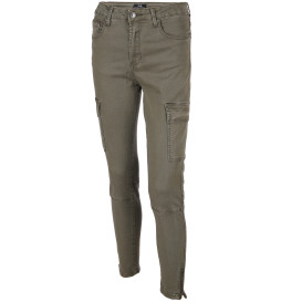 Damen Cargohose in schmaler Form