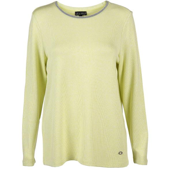 Damen Pullover in leichter Strickoptik