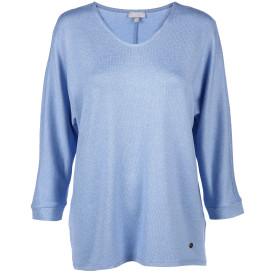Damen Sweatshirt in Strickoptik