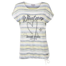 Damen Inside-Out Shirt mit Pailletten
