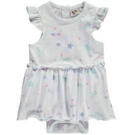 Baby Kleid mit integriertem Body