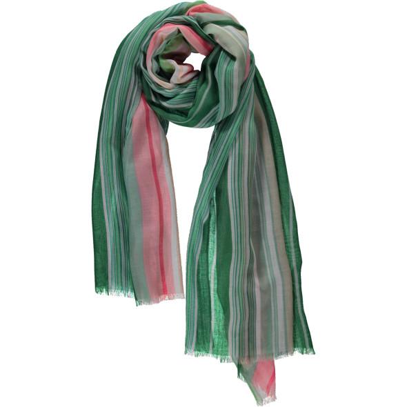 Damen Schal mit Streifen