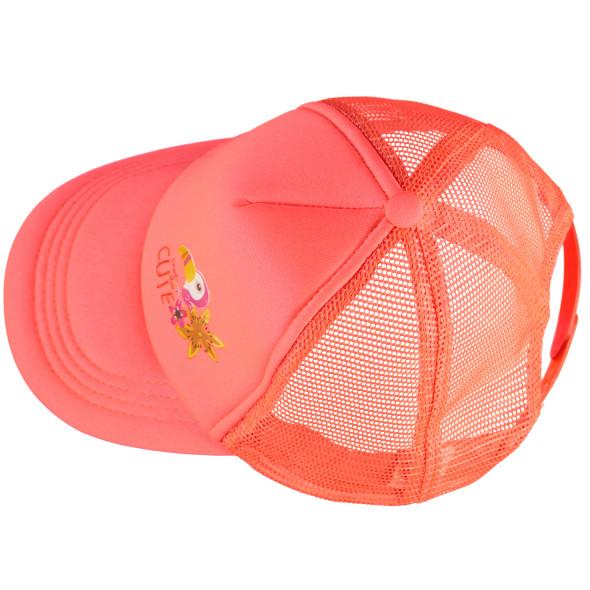 Mädchen Baseball Cap mit Vogelprint
