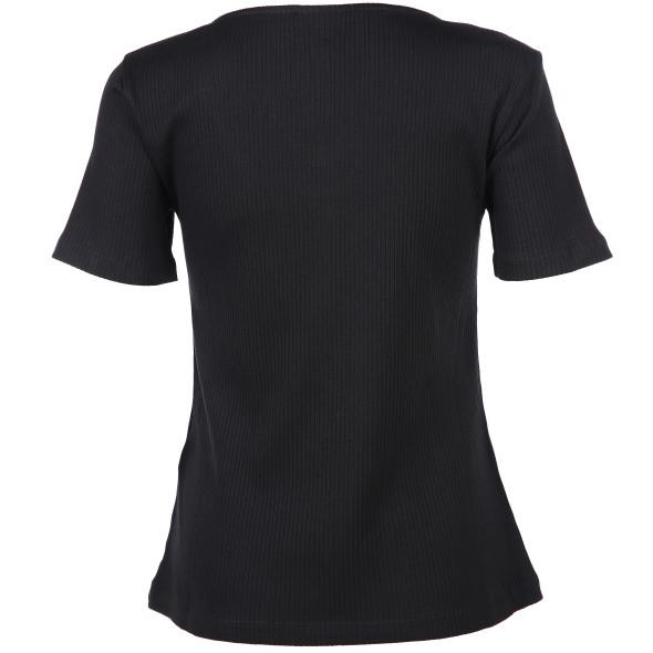 Vero Moda VMHELSINKI SS TOP GA Shirt mit Zierknöpfen