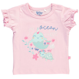 Baby Shirt mit Frontprint und Applikation