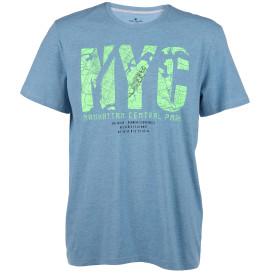Herren Shirt mit Neonprint