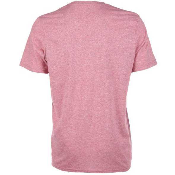 Herren Shirt in melierter Optik mit Print