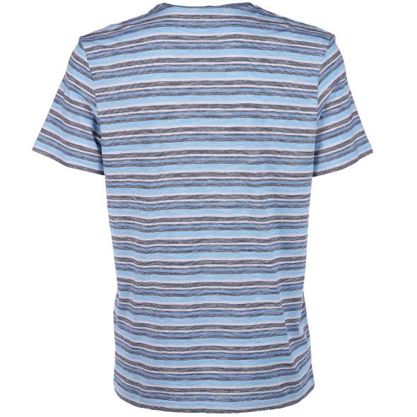 Herren Shirt im Streifenlook