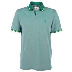 Herren Poloshirt in Two-Tone Optik