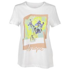 Damen Rundhals-Shirt mit Print