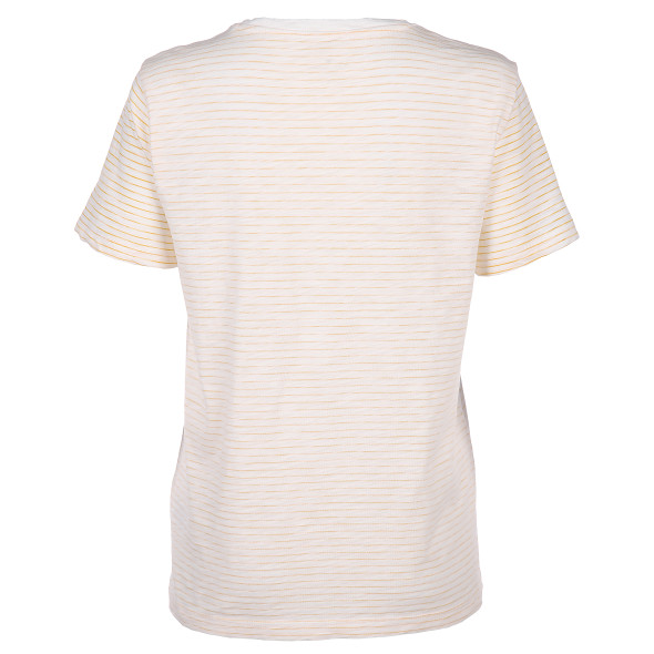 Damen T-Shirt Inside-Out mit Stickerei