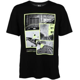 Herren T-Shirt mit Neonprint