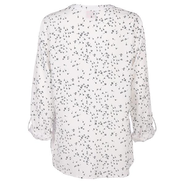 Damen Bluse mit Minimalprint
