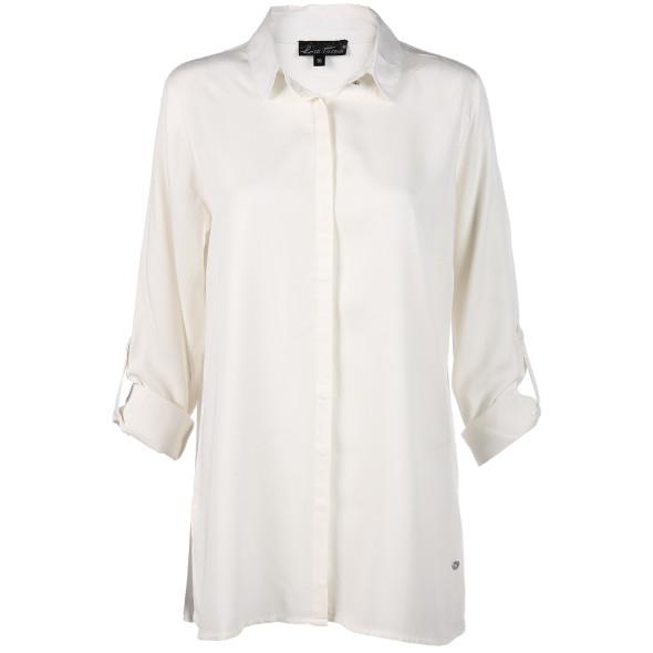 Damen Bluse in langer Form