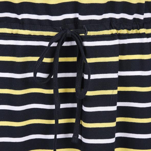 Damen Kleid im Streifenlook mit Tunnelzug