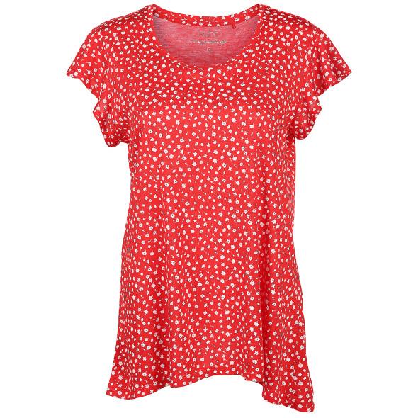 Damen Shirt in leichter A-Form