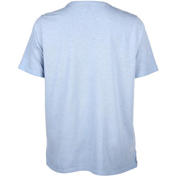 Große Größen Shirt mit Nieten Applikation