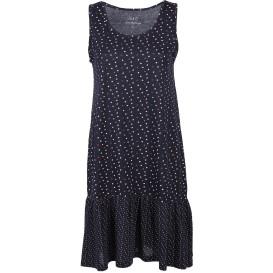 Damen Jerseykleid mit Volant