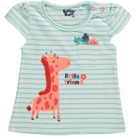 Baby Mädchen Shirt mit Giraffenprint