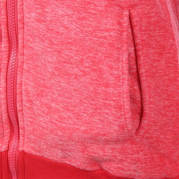 Damen Kapuzenjacke aus Fleece