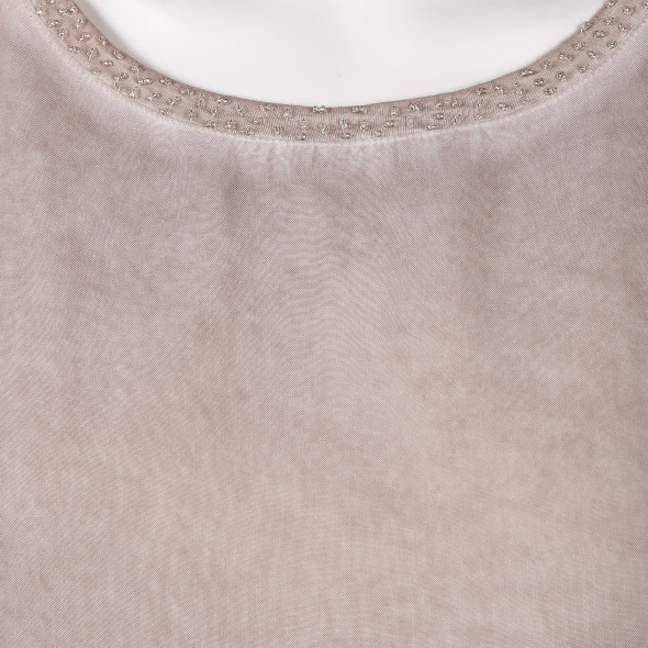 Damen Shirt mit Perlen