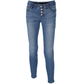Damen Jeans im Crash Look