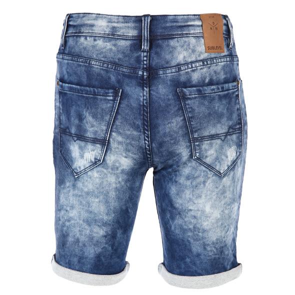 Herren Bermuda in Denim Jeans