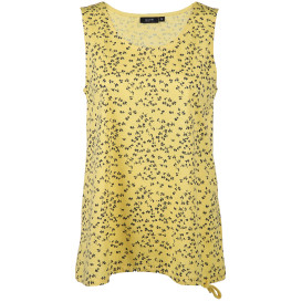 Damen Top mit Bindeband im Alloverprint
