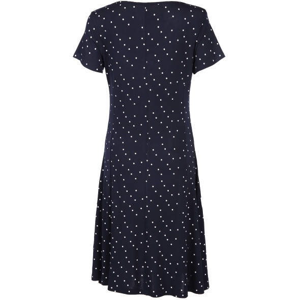 Damen Kleid mit Punkteprint