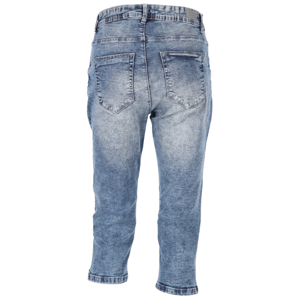 Damen Capri Jeans im 5-Pocket-Stil